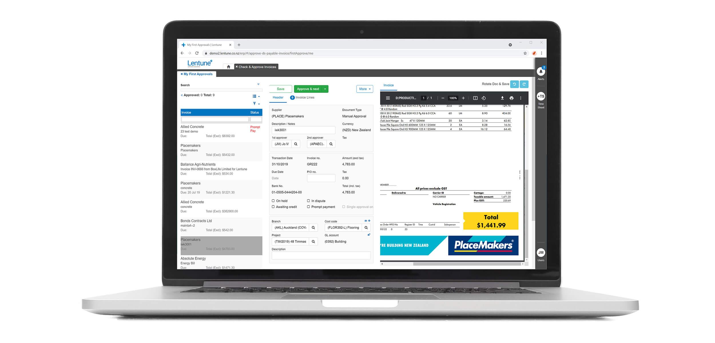 Lentune-invoice-on-laptop-2500x1200