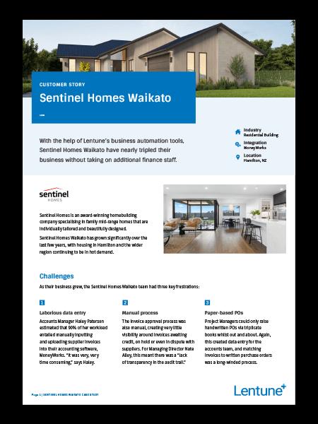 Sentinel Homes Case Study pdf